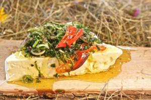 Schafskäse ''Valbreso eingelegt in Kräuterlake''