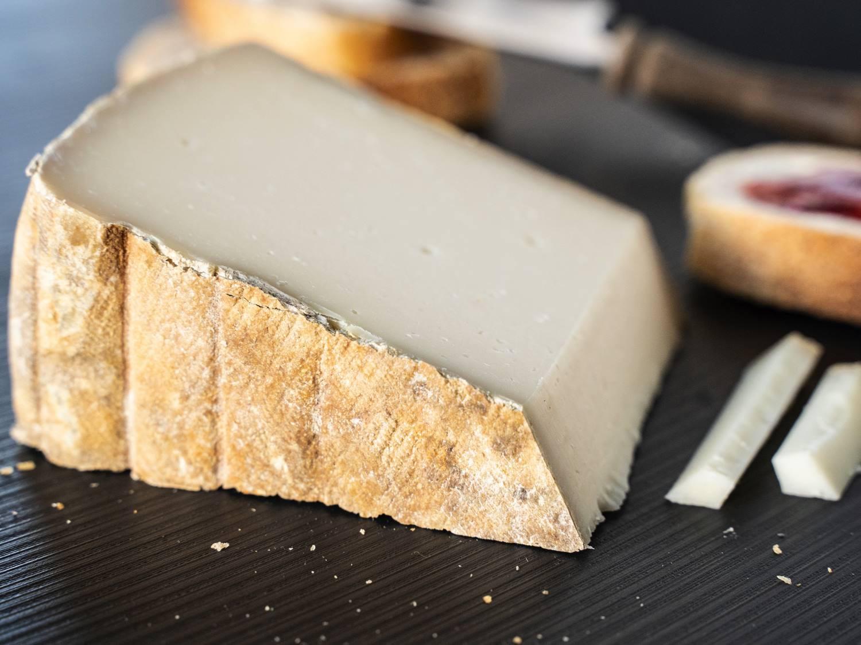 Tomme Chevre Ziegenkäse Rohmilch Frankreich Pyrenäen