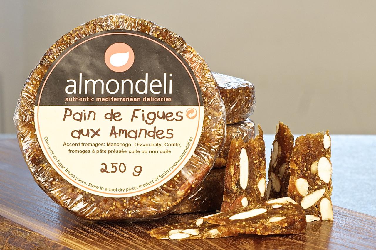 Früchtebrot zum Käse - Feigen- und Mandelbrot 250g-