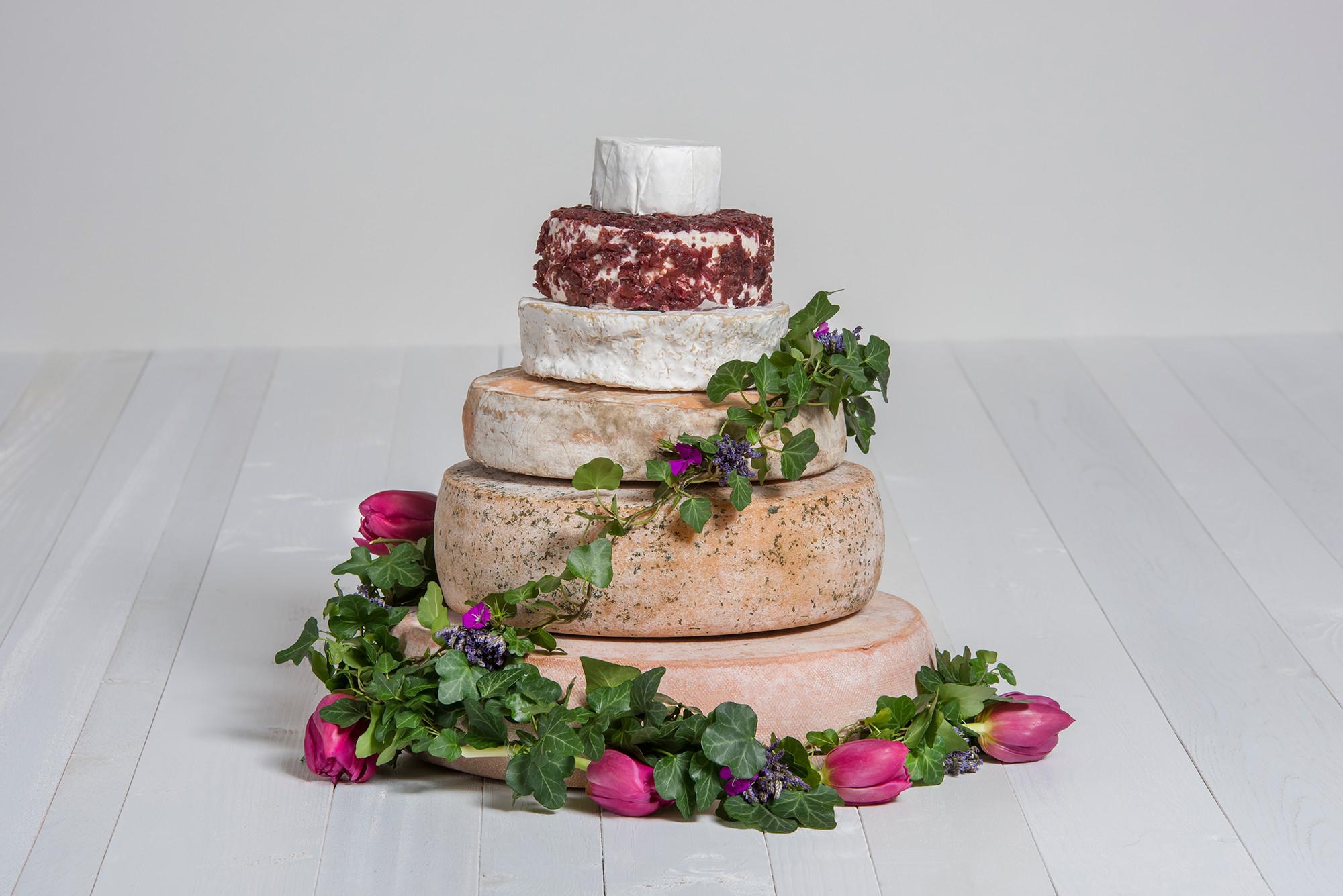Käse-Hochzeitstorte 'Victoria' Probierpaket