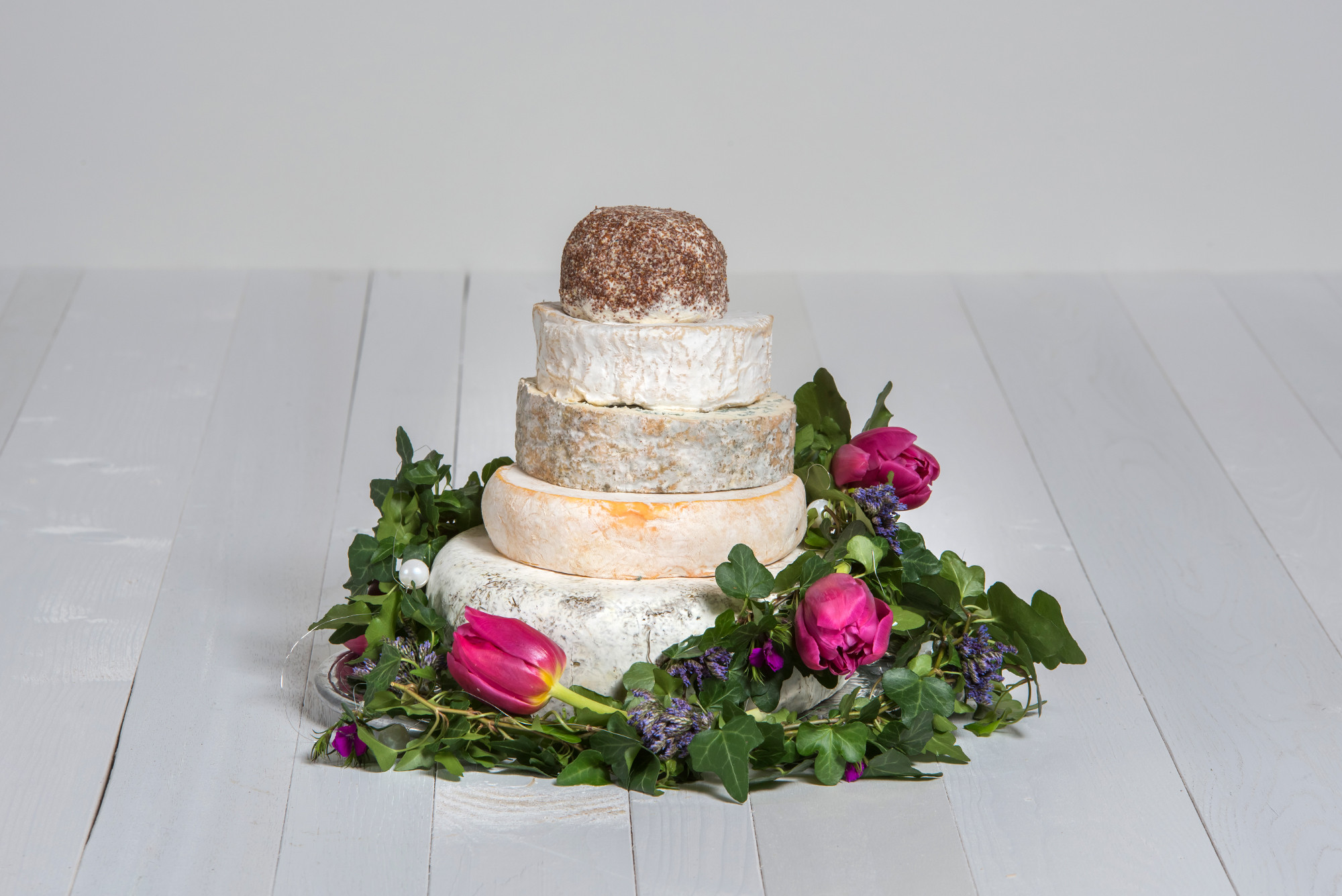 Käse-Hochzeitstorte 'Fabiola'