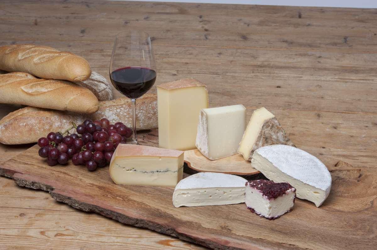 Käseplatte Feiner Französischer Käse Käseauswahl Käseset