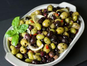 Oliven mariniert | 4 Sorten Mix | Antipasti