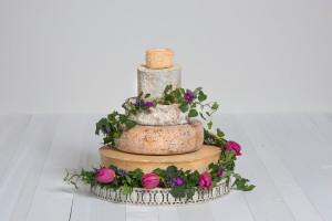 Käse-Hochzeitstorte 'Lieselotte'
