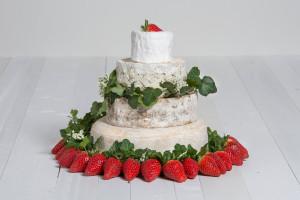 Käse-Hochzeitstorte 'Eleonore'