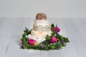 Käse-Hochzeitstorte 'Fabiola' Probierpaket
