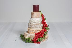 Käse-Hochzeitstorte 'Wilhelmina' Probierpaket