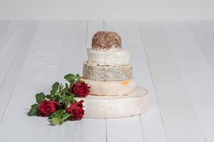 Käse-Hochzeitstorte 'Svantje'