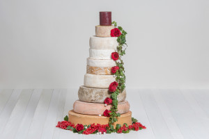 Käse-Hochzeitstorte 'Maximiliane'