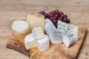 Käseplatte Frankreich Dessert Käseauswahl