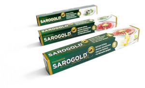 SAROGOLD Aromaschutzfolie / Frischhaltefolie 30cm x 20 Meter (Haushaltsgröße)