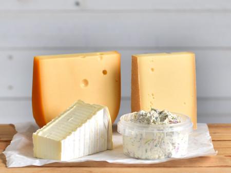 Probierpaket | Käseset 'Familie' | 4x Käsesorten