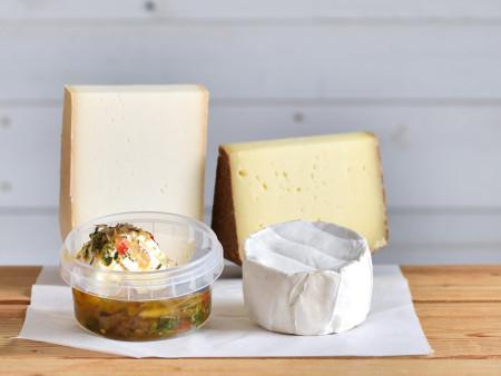 Probierpaket | Käseset 'Schafs.- & Ziegenkäse' | 4x Käsesorten