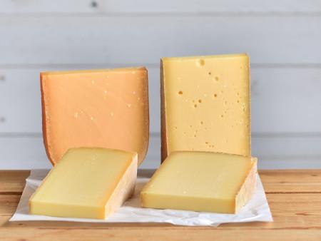 Probierpaket | Käseset 'Schnitt.- & Hartkäse' | 4x Käsesorten