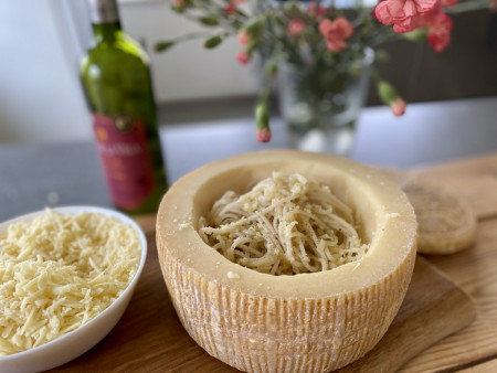 Pastaschale Klein 'Pastalino' | Käse für Pasta aus der Pastaschüssel | Kleiner 2,2kg Laib