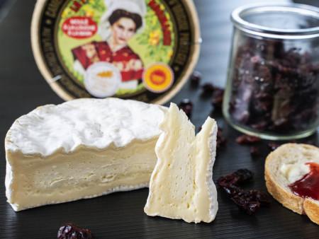 Camembert de Normandie AOP - Das Original aus Rohmilch 'JUNG' 1x Laib 250g