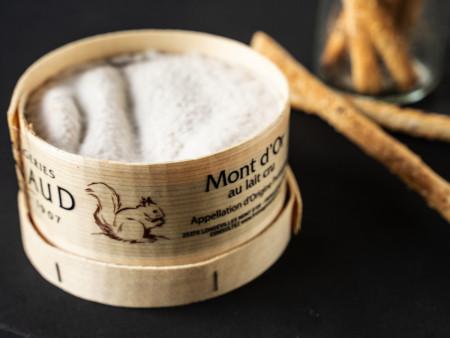 Vacherin Mont d'Or AOP | Original Ofenkäse aus dem Jura | 400g Stück
