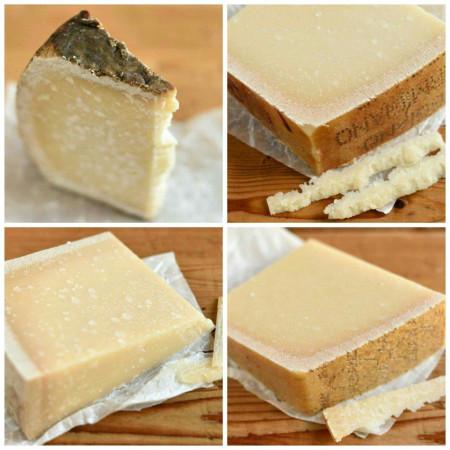 Probierpaket | Käseset 'Parmesan, Pecorino & Brüder' | 4 - 6 wechselnde Sorten 1000g