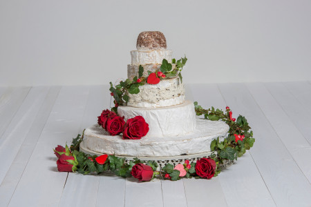 Käse-Hochzeitstorte 'Sophia'