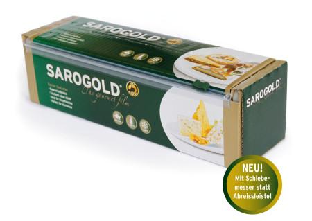 SAROGOLD Aromaschutzfolie / Frischhaltefolie 30cm x 300 Meter